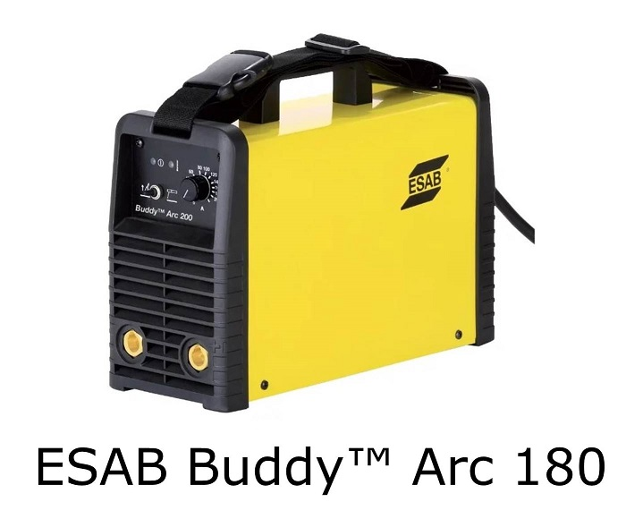 buddy arc 180 esab name